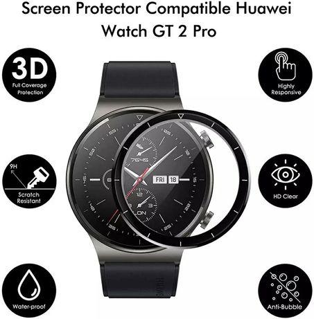 3D Протектор за дисплей за Huawei Watch GT2 / GT2 PRO - 5D 46mm