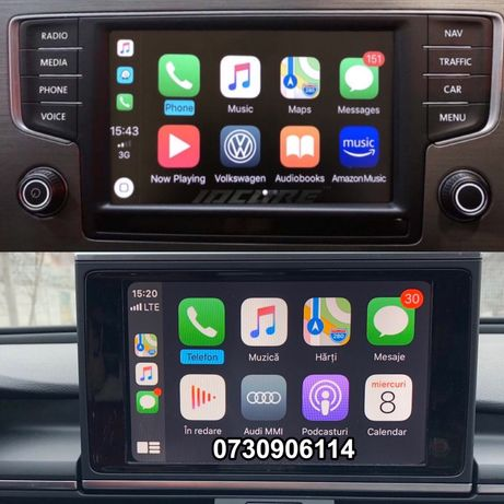 Apple CarPlay Android Auto AUDI VW A4 A5 A6 A7 A8 Q7 VIM HARTI 2020