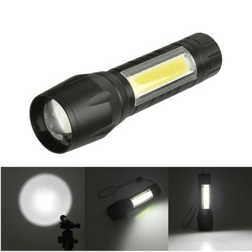 2 в 1 мини фенер и лампа POLICE със ZOOM и USB зареждане