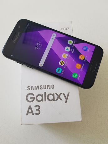 Самсунг Galaxy A3 2017 2 sim 4G LTE black sky