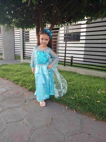 Rochie Rochita NOUA printesa Elsa Frozen 2, 3, 4, 5 sau 6 ani