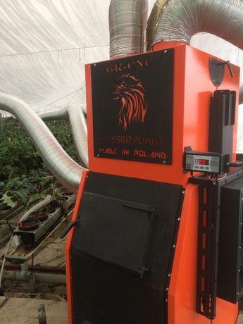 Generator aer cald/soba/centrala/incalzire solarii/sere/hale/service
