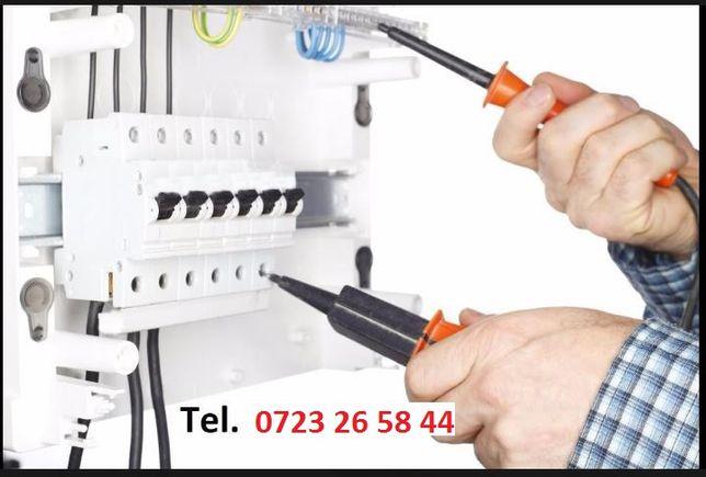 Electrician, reparatii, circuite noi, interventii rapide...