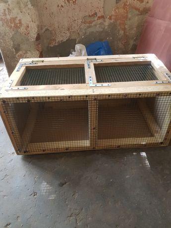 Cușca transport iepuri păsări etc