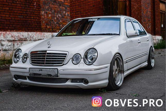 Обвес, тюнинг на Мерседес w210 Mercedes w210