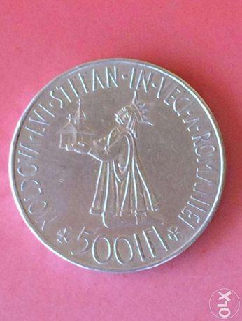Moneda veche din argint