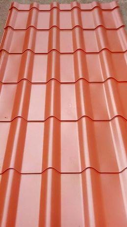 нов покрив с метални керемиди 0,5мм
