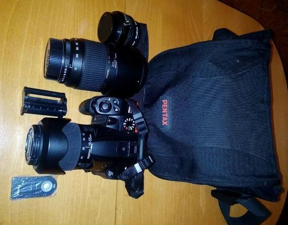 DSLR фотоапарат PENTAX K30 WR