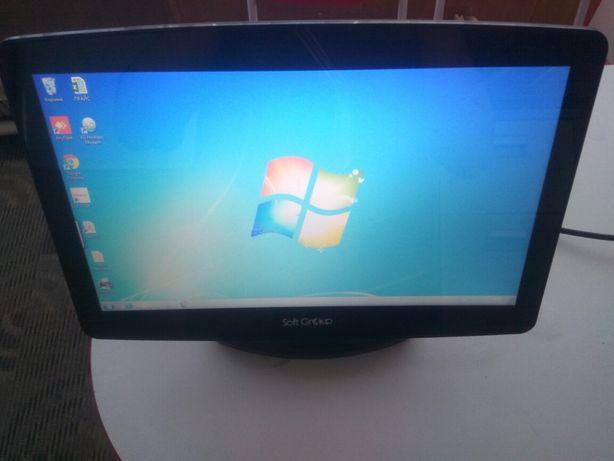Моноблок для кассы сенсорным экраном и встречным принтером