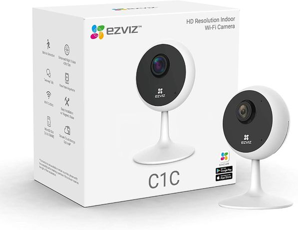 Camera supraveghere interior EZVIZ C1C. Wi-Fi. Full HD. Baby Monitor