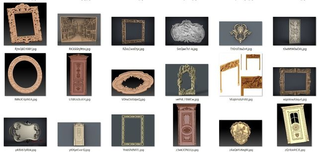 Modele 3D CNC ,Fisiere 3D , STL CNC, Sculptura 3D lemn