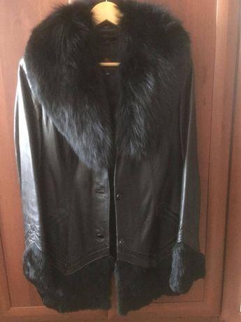 Куртка женская зимняя кожанная продам