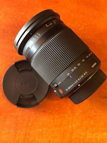 Sigma 18-300mm F3.5-6.3 HSM OS Contemporary Obiectiv pentru Nikon DX