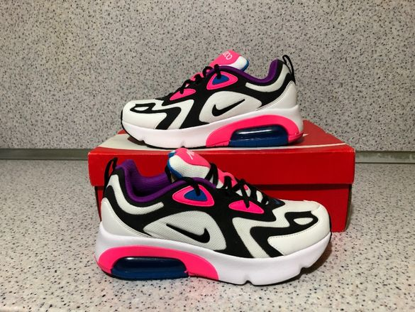 ОРИГИНАЛНИ *** Nike Air Max 200 / White / Black/ Hyper Pink