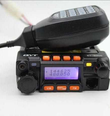 Рация QYT KT-8900 Dual 25 Вт (VHF)(UHF)Работает с РУЧНЫМИ рациями