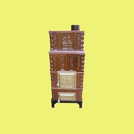 Sobe teracota mobile pe suport metallic cu picioare sau roti