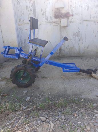 Scaun cu roti pentru motocultor