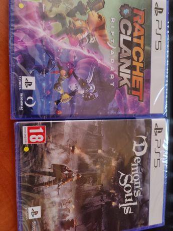 Vând jocuri PS5 (sigilate)