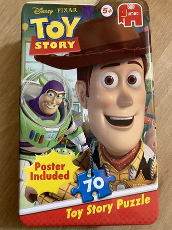 Toy Story puzzle si figurine Buzz Ligtyear