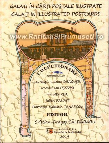 Galati in carti postale ilustrate