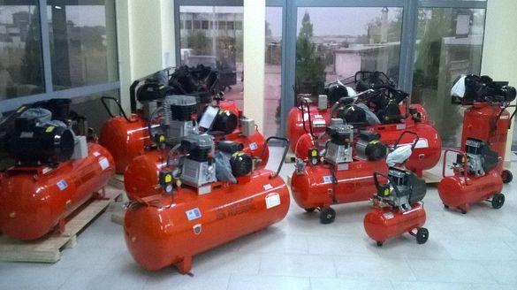Компресор за въздух 24, 50, 100, 200, 300 и 500 литрови