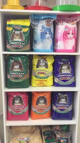 Наполнители для кошачьих туалетов