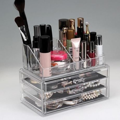 Комбиниран Органайзер За Гримове И Бижута - Make Up Kit