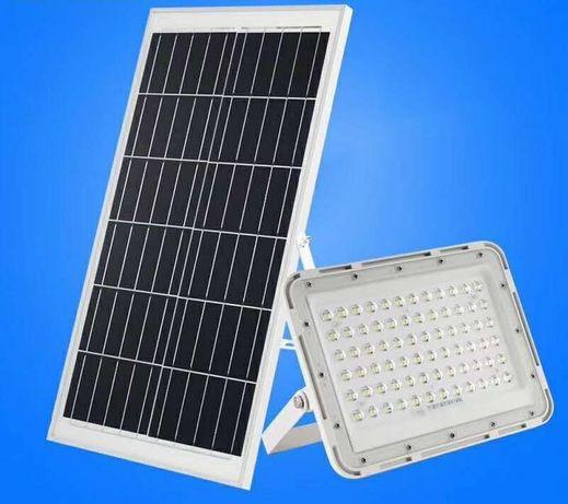 Прожектор солнечная панель