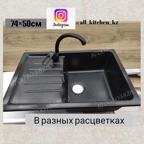 Кухонные мойки из искусственного камня