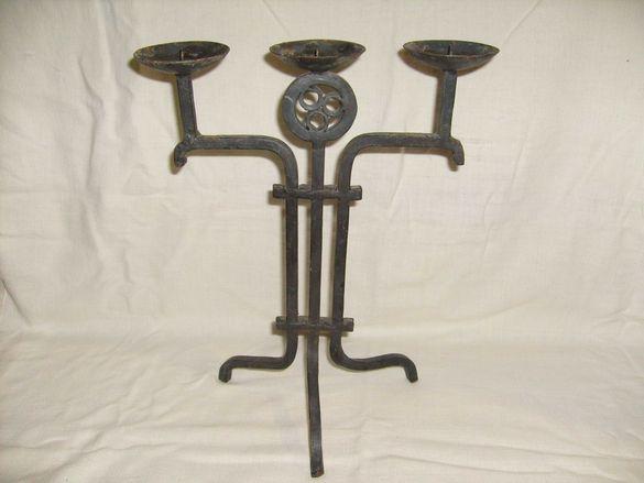 Свещници от метал. Арт. Декорация
