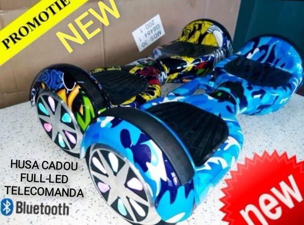 Hoverboard Nou blue carbon 6,5