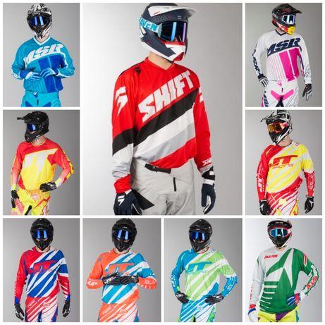 Echipament ATV Cross Enduro Motocross Bluza Pantaloni Casca Casti