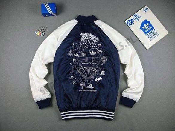 Adidas Originals Star Wars Superstar Мъжко Сатенено Горнище Яке L и XL