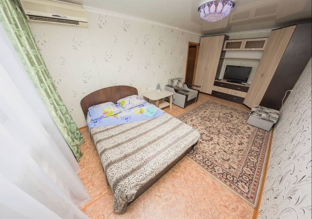 Однакомнатная Квартира Помесячно. Полностью Мебелирована. КТВ/Wi-Fi Петропавловск - изображение 1
