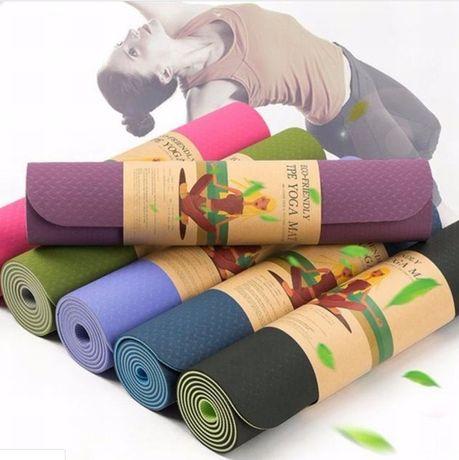 Коврик для йоги (йога мат,каремат) и фитнеса ECO-FRIENDLY TPE Yoga Mat