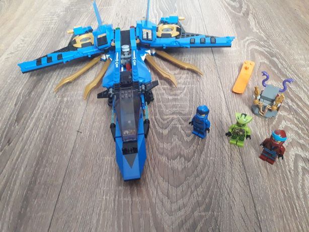 Lego ninjago avionul de lupta a lui jay 70668
