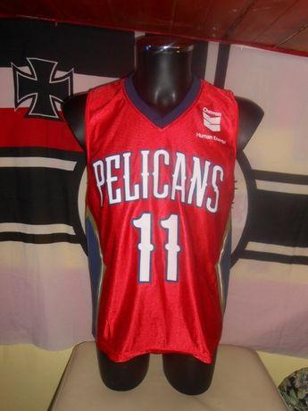 maiou basketball nba new orleans pelicans #11 jrue holiday