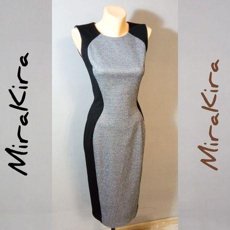 Стильное платье-футляр, офисное