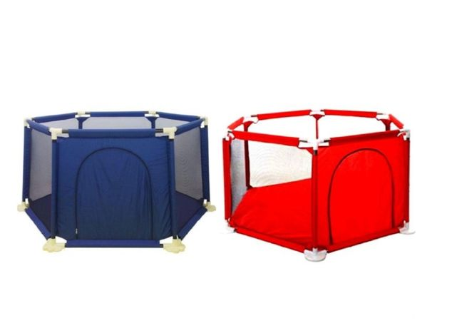 Tarc de joaca hexagonal,metalic,pentru copii