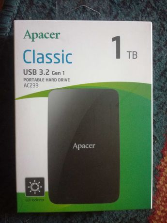 Внешний жесткий диск Apacer 1ТБ