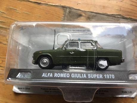 Alfa Romeo Giulia super 1970 / Колекционерска количка