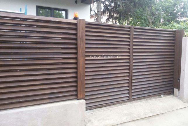 Gard Oblon din Lemn, direct de la fabrica