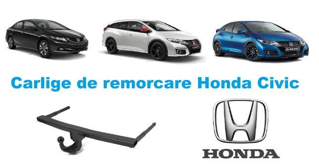 Carlige de remorcare omologate RAR Honda Civic - 5 ani garantie