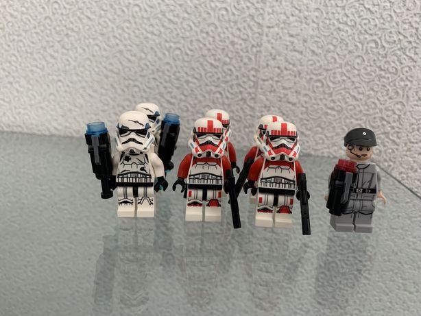 Лего звездные войны, lego star wars минифигурки