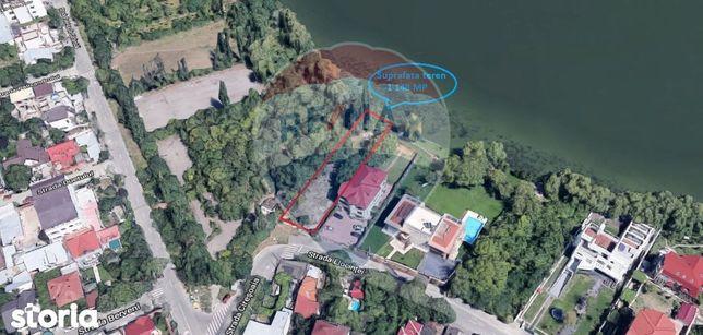 Teren situat in Bucurestii Noi cu deschidere la lac