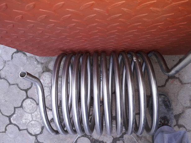 Spirala,serpentina teava inox