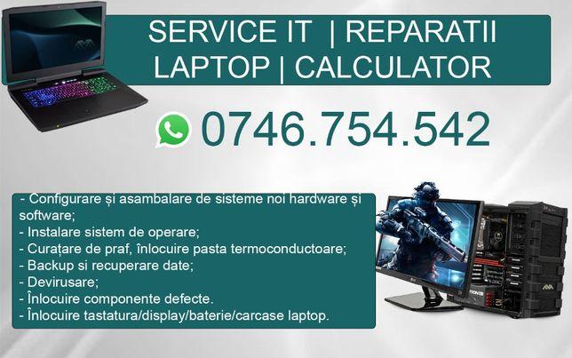 Service/Reparatii Laptop/PC   Instalare windows  