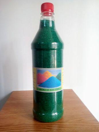 Zahar colorat aromatizat. Aroma de Mar Verde.