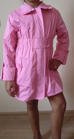 Детско розово дълго яке