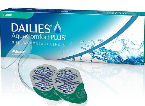 Lentile de contact Dailies Aqua Comfort Plus, -3.00, 30 bucati, Alcon